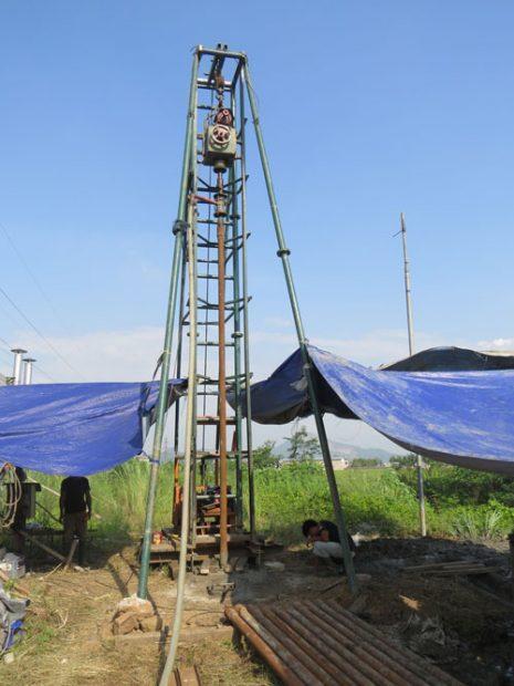 Jasa Konstruksi Pengeboran untuk sumur artetis,survey geolistrik