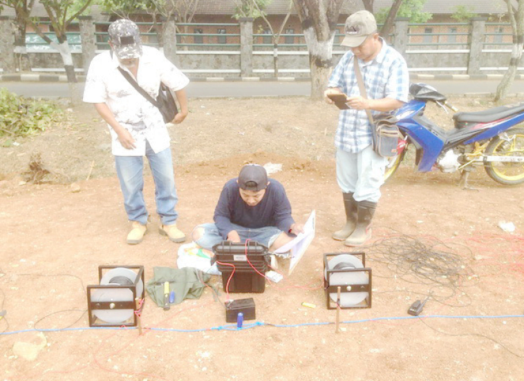 jasa survey geolistrik, survey geolistrik, mencari air, metode mencari air, alat geolistrik